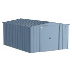 Arrow Classic 10x14 Steel Storage Shed Kit - Blue Grey (CLG1014BG)