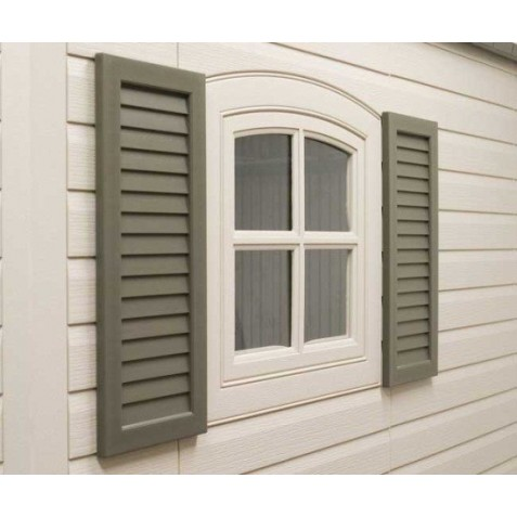 Lifetime Shed Shutters Kit for 8 ft and 11 ft Sheds (0111)