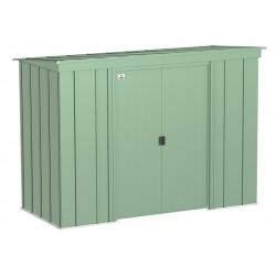 Arrow Classic 8x4 Steel Storage Shed Kit - Sage Green (CLP84SG)