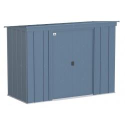 Arrow Classic 8x4 Steel Storage Shed Kit - Blue Grey (CLP84BG)