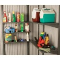 Lifetime 5 Piece 30x14 in. Shelf Accessory Kit for 11 ft Sheds (0115)