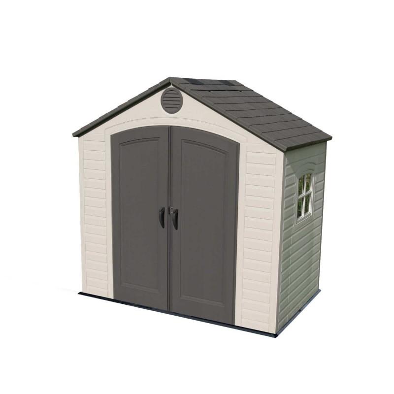 Lifetime 8x5 Storage Shed Kit w/ Floor & Window (6406)