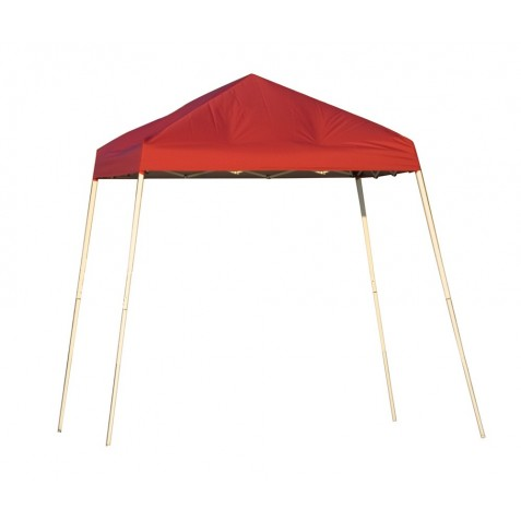 Shelter Logic 8x8 Pop-up Canopy - Red (22578)
