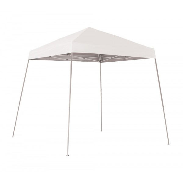 Shelter Logic 8x8 Pop-up Canopy - White (22571)  sc 1 st  ShedsDirect.com & Logic 8x8 Pop-up Canopy - White (22571)