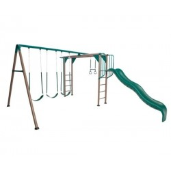 Lifetime Monkey Bar Swing Set - Earthtone (90143)