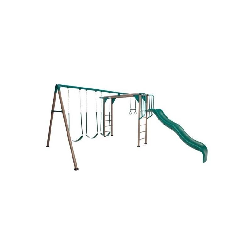 Lifetime Monkey Bar Swing Set - Earthtone (90143)