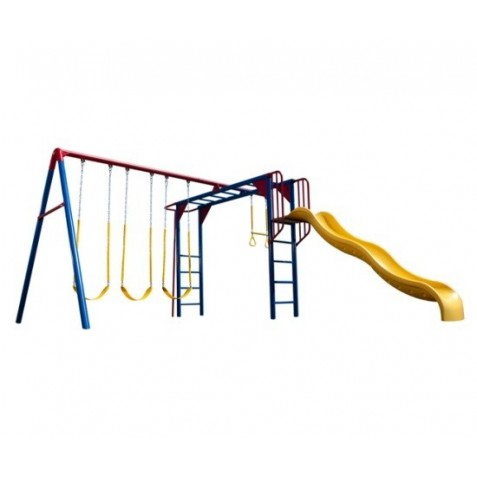 Lifetime Monkey Bar Swing Set - Primary (90177)