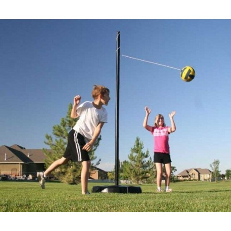 Lifetime Portable Tetherball Kit - Black Pole (90029)