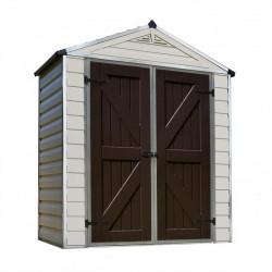 Palram 6x3 Skylight Storage Shed Kit - Tan (HG9603T)