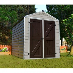 Palram 6'x8' Skylight Storage Shed Kit - Tan (HG9608T)