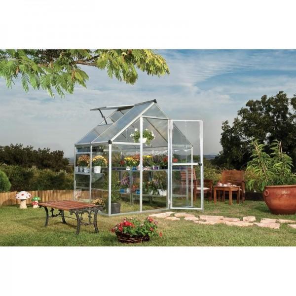 palram hybrid greenhouse kit silver - Palram Greenhouse