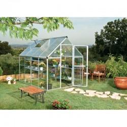 Palram 6'x8' Hybrid Greenhouse Kit - Silver (HG5508)
