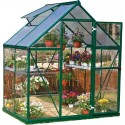 Palram 6x8 Hybrid Greenhouse Kit - Green (HG5508G)