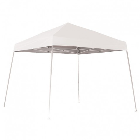 Shelter Logic 10x10 Pop-up Canopy - White (22558)