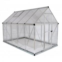 Palram 6'x10' Hybrid Greenhouse Kit - Silver (HG5510)