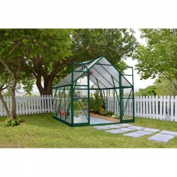 Palram 8'x8' Balance Hobby Greenhouse Kit - Green (HG6108G)