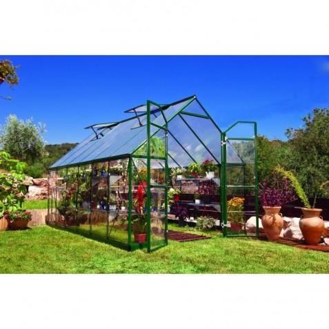 Palram 8'x12' Balance Hobby Greenhouse Kit -  Green (HG6112G)
