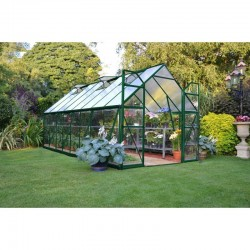 Palram 8x16 Balance Hobby Greenhouse Kit - Green (HG6116G)