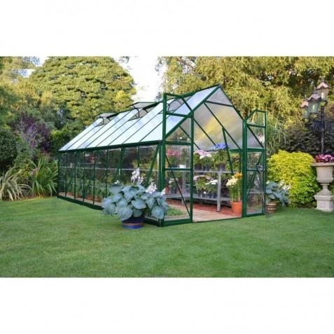 Palram 8'x16' Balance Hobby Greenhouse Kit - Green (HG6116G)