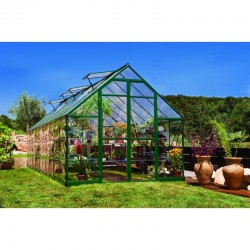 Palram 8x20 Balance Hobby Greenhouse Kit - Green (HG6120G)