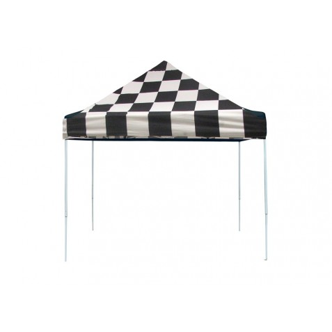 Shelter Logic 10x10 Pop-up Canopy - Checkered (22565)