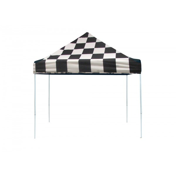 Shelter Logic 10x10 Pop Up Canopy Checkered 22565