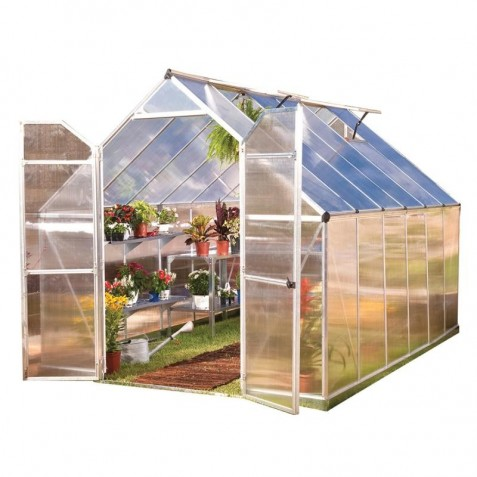 Palram 8x12 Essence Greenhouse Kit - Silver (HG5812)