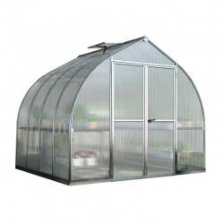 Palram 8'x12' Bella Hobby Greenhouse Kit - Silver (HG5412)