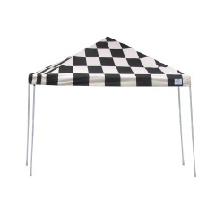 Shelter Logic 12x12 Pop-up Canopy Kit - Checkered Flag (22543)