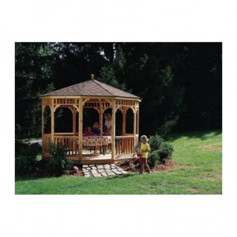 Handy Home 10ft. diameter San Marino Octagonal Gazebo Kit (19944-8)