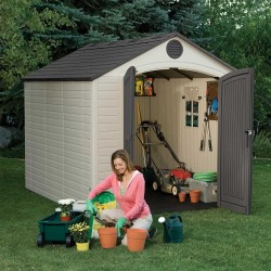 Lifetime 8' x 10' Outdoor Storage Shed Kit (6405)