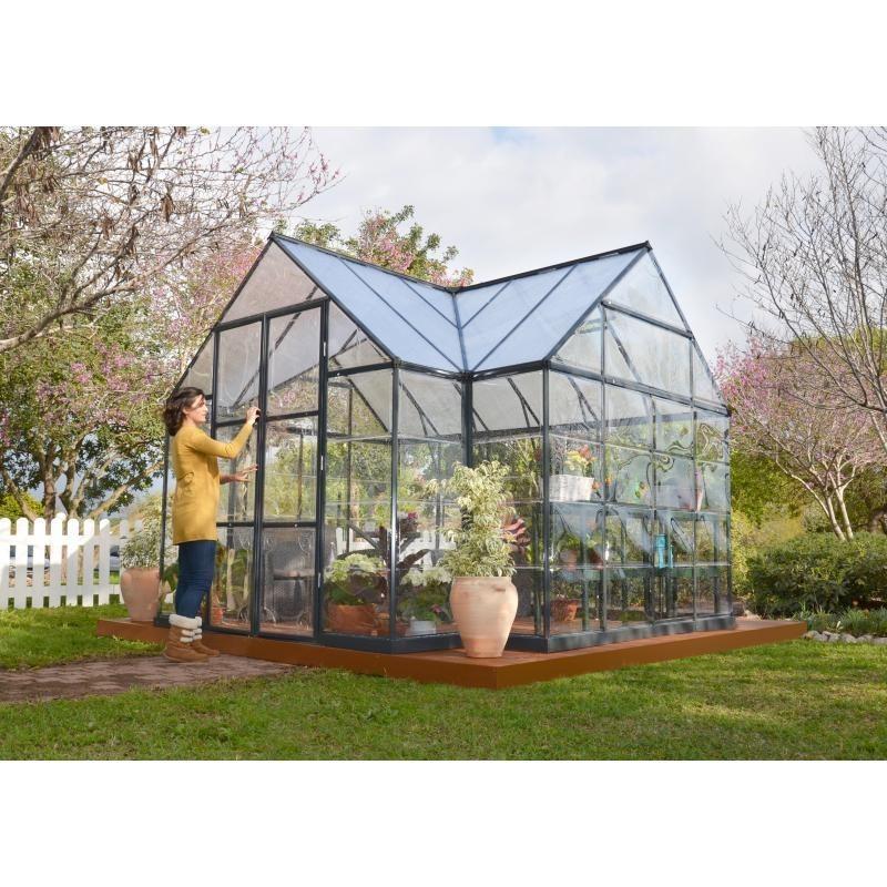 palram 12x8 chalet greenhouse kit hg5400