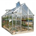 Palram 6x12 Snap & Grow Hobby Greenhouse Kit - Silver (HG6012)
