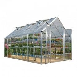 Palram 8'x16' Snap & Grow Hobby Greenhouse Kit - Silver (HG8016)