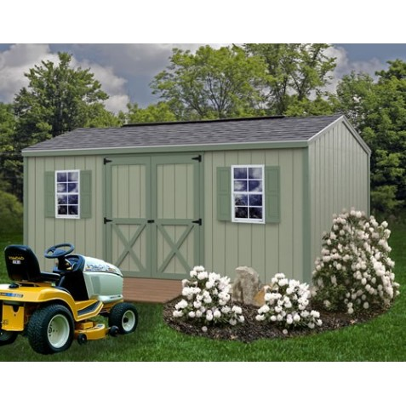 Best Barns Cypress 10x16 Wood Storage Shed Kit (cypress_1016
