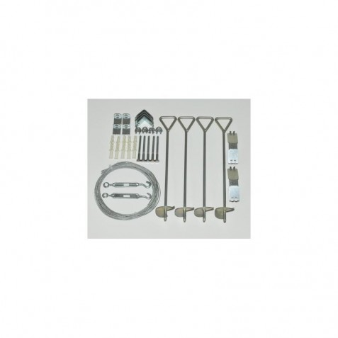 Palram Cable Anchor Kit Cable Anchor Kit for Snap & Grow (HG1022)
