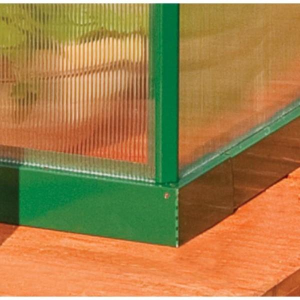 Palram mythos hobby greenhouse kit green hg g