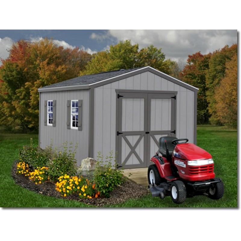 Best Barns Elm 10x12 Wood Storage Shed Kit (elm_1012)