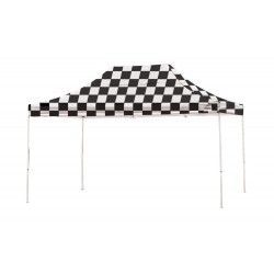 Shelter Logic 10x15 Pop-up Canopy - Checkered (22555)