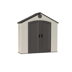 Lifetime 8' x 2.5' Plastic Storage Shed Kit (6413)