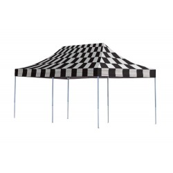 Shelter Logic 10x20 Pop-up Canopy Kit - Checkered (22533)