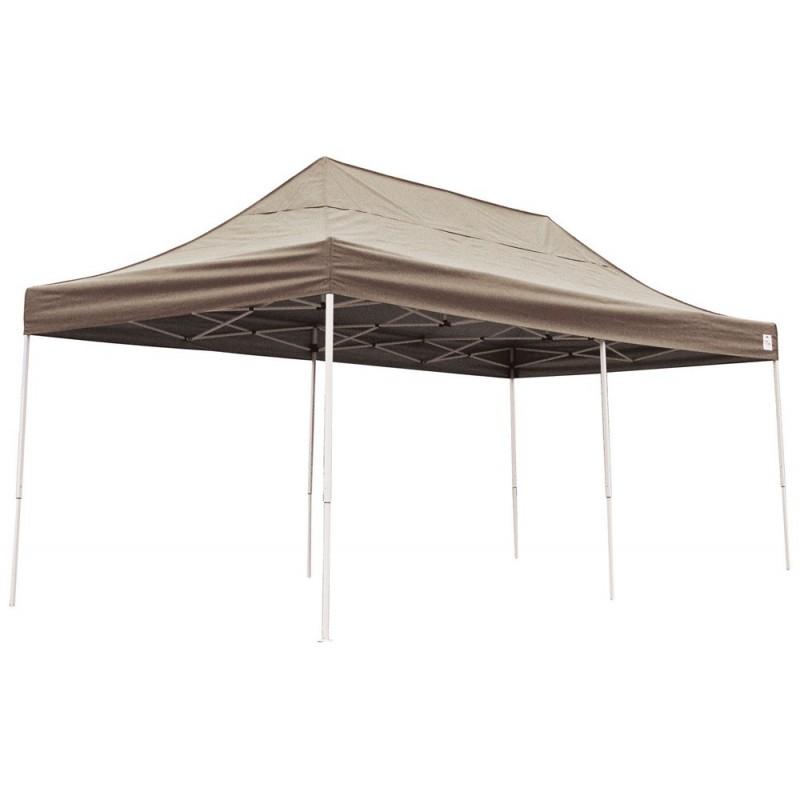 Shelter Logic 10x20 Pop Up Canopy Bronze 22583