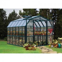 Rion 8'x8' Grand Gardener 2 Clear Greenhouse Kit (HG7208C)