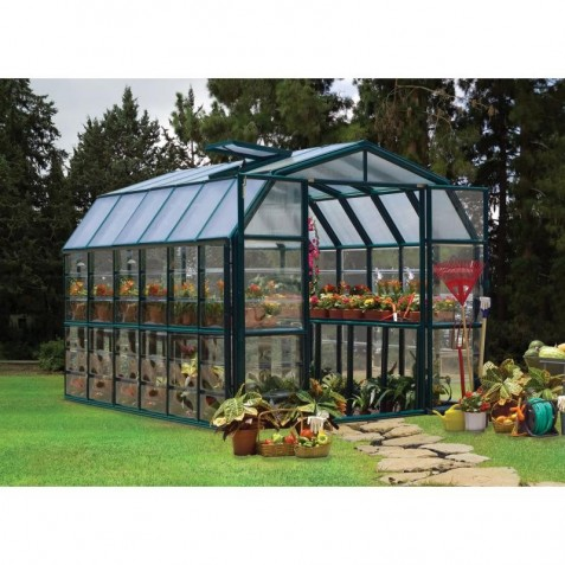 Rion 8'x16'  Grand Gardener 2 Greenhouse Kit - Clear (HG7216C)