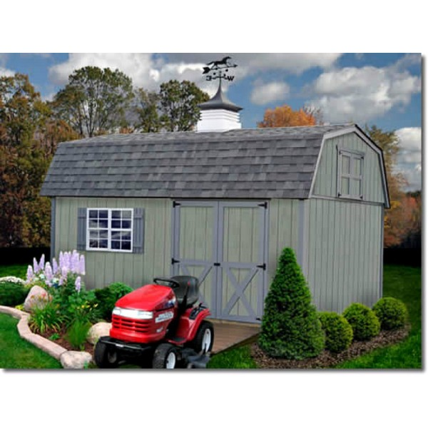 best barns meadowbrook 10x12 wood storage shed kit