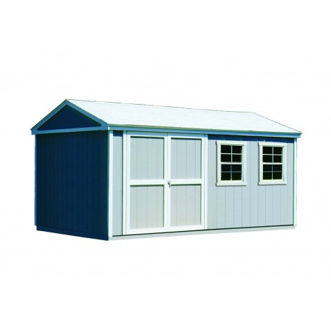 Handy Home Somerset 10x14 Wood Storage Shed Kit (18414-7)
