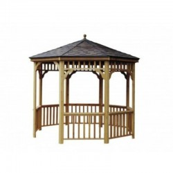Handy Home 12ft. diameter San Marino Round Gazebo Kit (19948-6)