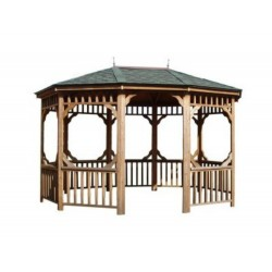 Handy Home 12x16 Monterey Oval Gazebo Kit (19505-1)