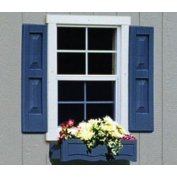 Handy Home Small Square Window Shutters (18832-9)