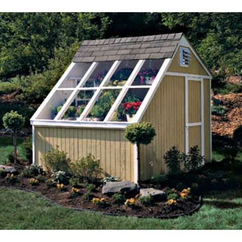 Handy Home Phoenix 8x10 Solar Shed Greenhouse Kit (18147-4)